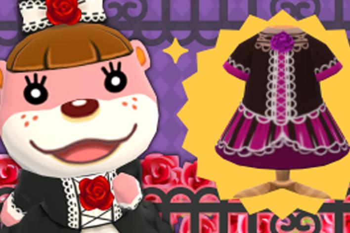 Gothic Dress animal crossing pocket camp