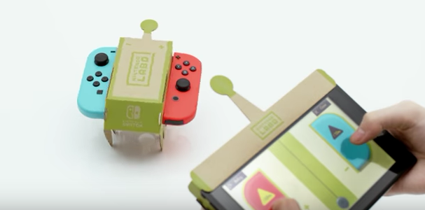 nintendo labo rc car