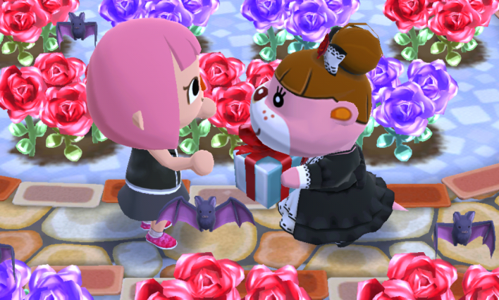 animal, crossing, pocket, camp, rose, festival, guide, how, to, get, bats, rare, creatures, Rosie, gothic