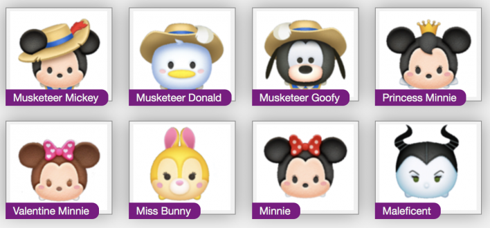 disney, tsum, tsum, sweetheart, event, white, hands, make, all, capsules, red, m initial cheats tips guide