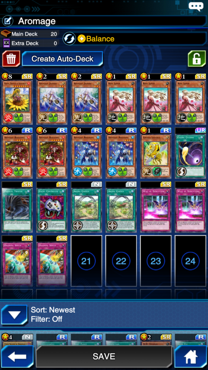 aromage deck yugioh duel links
