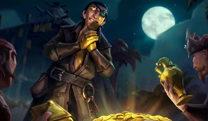 Rare holding Sea of Thieves scale test this weekend