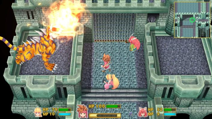 Secret of Mana spiky tiger