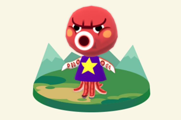 Octavian animal crossing pocket camp
