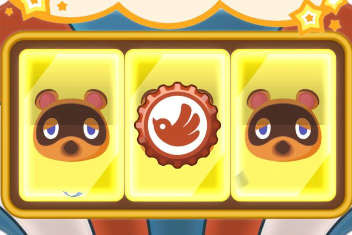 slot machine animal crossing pocket camp gacha