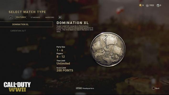 Call Of Duty WWII Domination XL