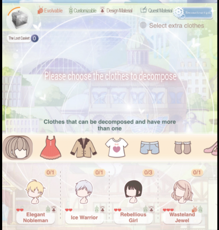 love nikki beginners guide stylist arena get diamonds coins chapter events quests tips tricks decompose
