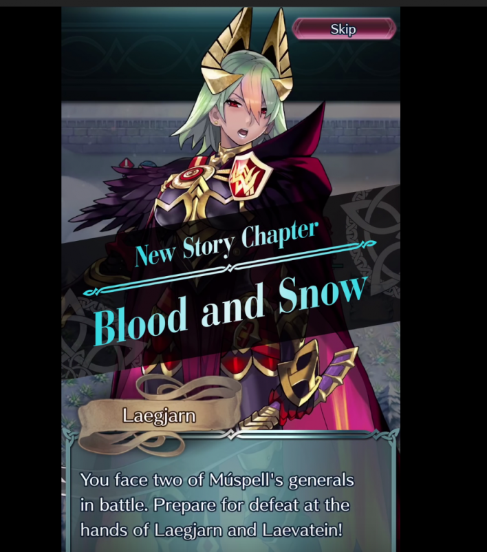 fire, emblem, heroes, fallen, heroes, new, story, chapter, blood, and, snow, Hardin, grima, robin, celica, feh, youtube, update