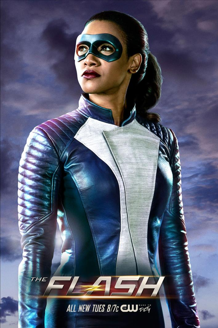 the flash iris west speedster powers