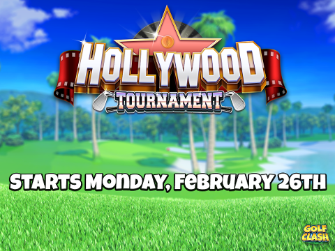 golf clash Hollywood tournament courses prizes start time practice Santa Ventura