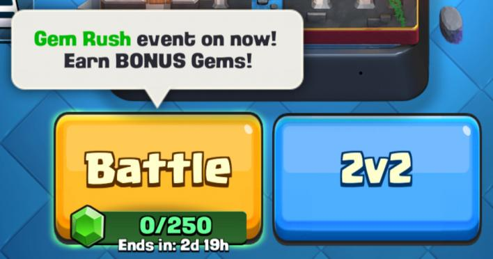 clash royale gem rush what is how long last tips strategies supercell