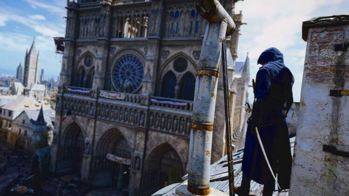 AC Unity Notre Dame Arno