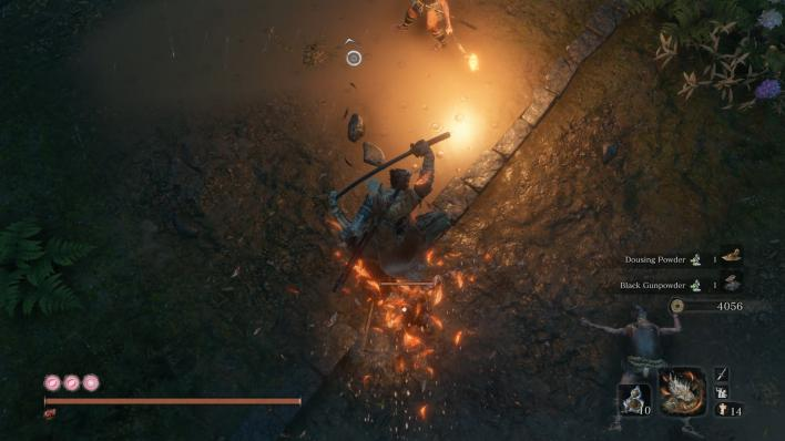 Sekiro Great Feather Mist Raven2