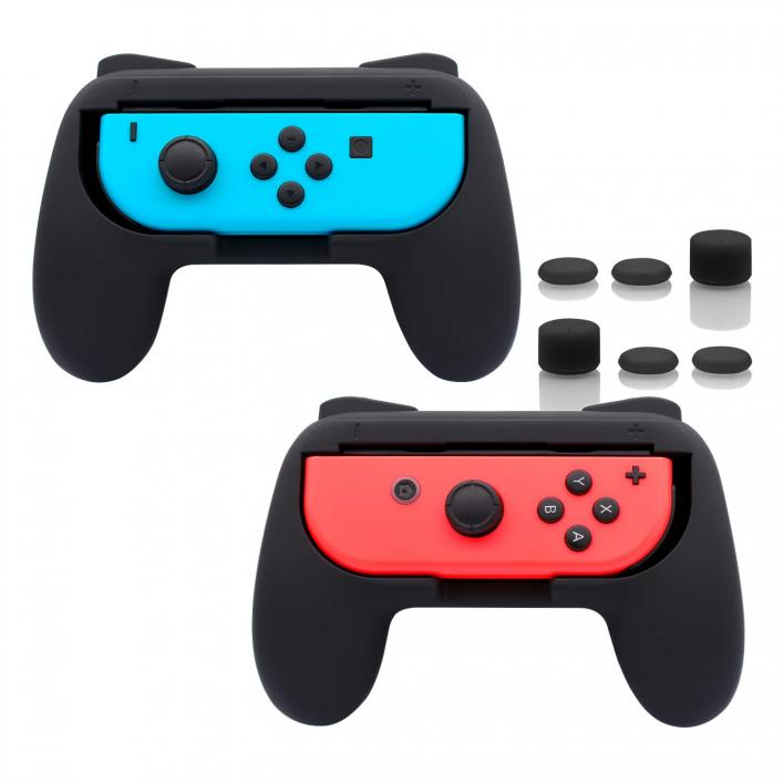 FASTSNAIL Grips for Nintendo Switch Joy-Con