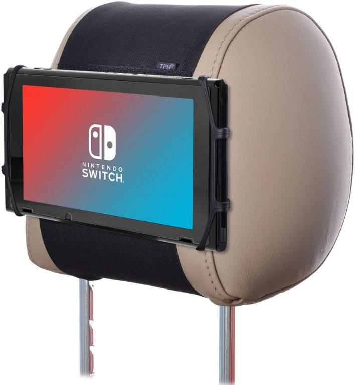 TFY Car Headrest Mount and Silicon Holder for the Nintendo Switch