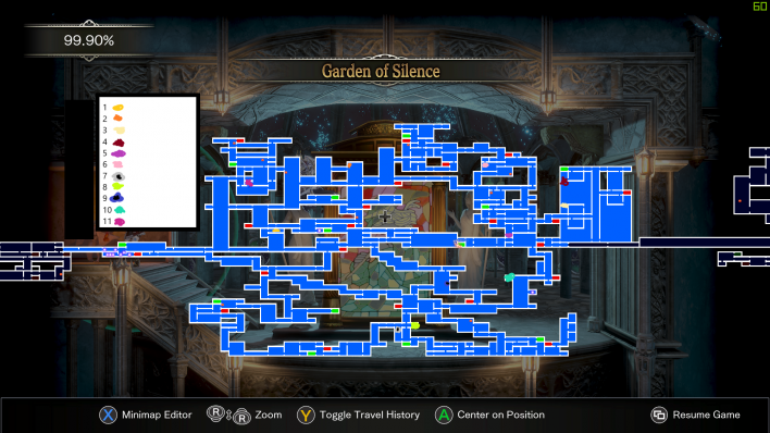 Bloodstained Food Map