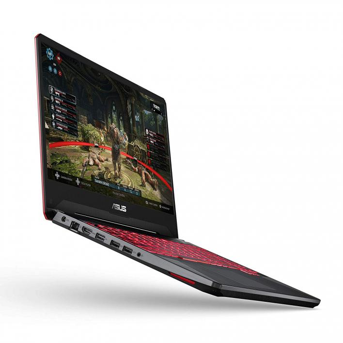 Asus TUF FX505, Powered by AMD