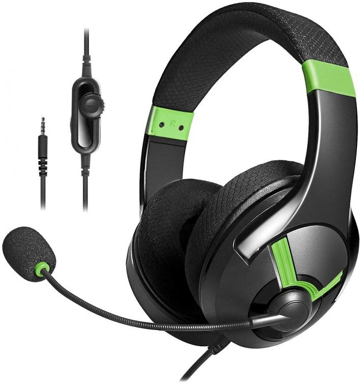 AmazonBasics Gaming Headset – Green