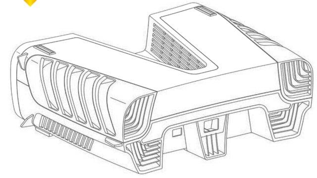 PS5 design patent other view