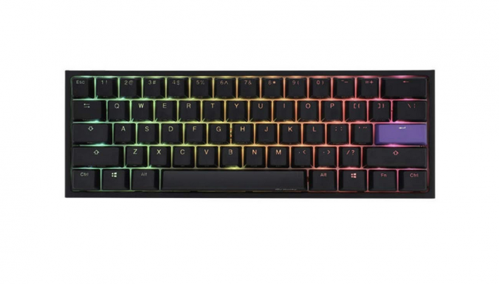 Akko X Ducky One 2 60 Percent RGB Mechanical Gaming Keyboard