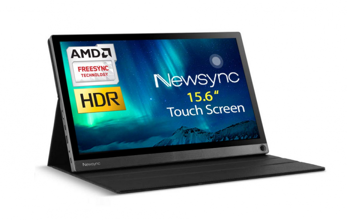 NEWSYNC 15.6 LED 1080p Touchscreen Portable Monitor