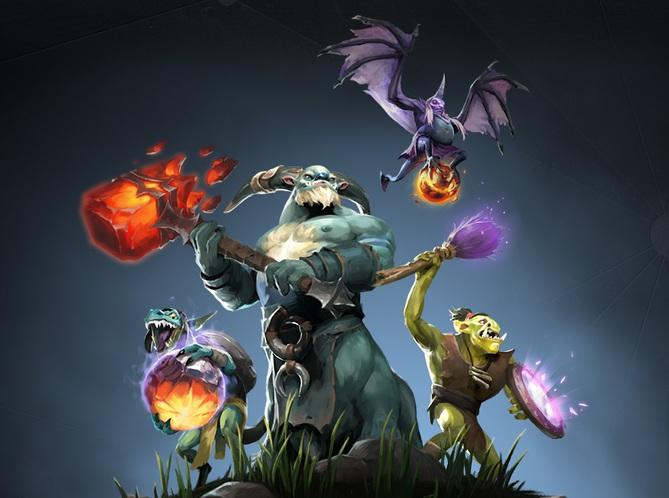 Image result for NEUTRAL dota2 art