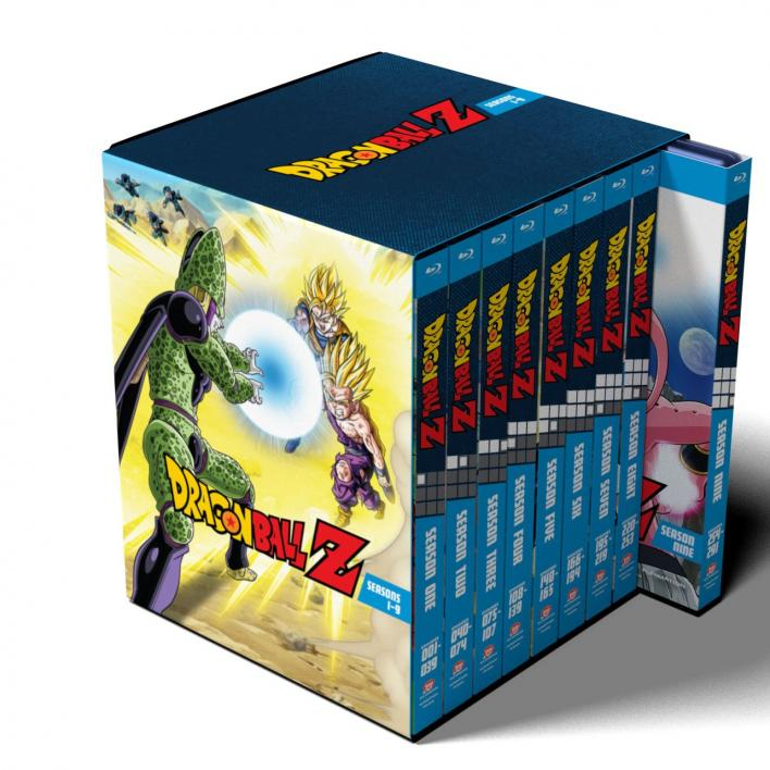 Dragon Ball Z Season 1-9 Collection