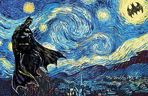 Batman In Van Gogh