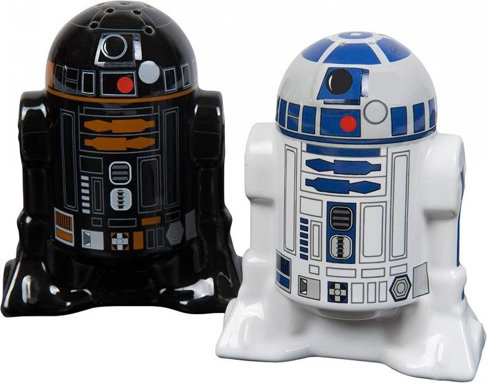 Droid Salt and Pepper Shaker